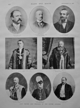 Some Mayors and Provosts of the United Kingdom. 1897.