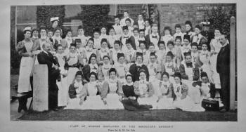 Staff of Nurses Employed in the Maidstone Epidemic. 1897.