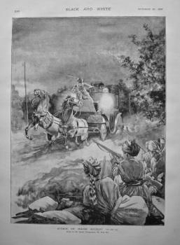 Attack on Major Rycroft. 1897.