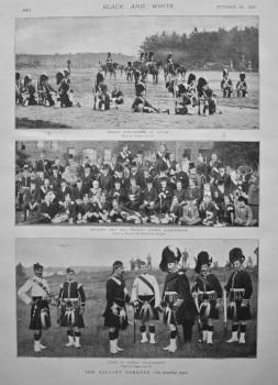 The Gallant Gordons. 1897.