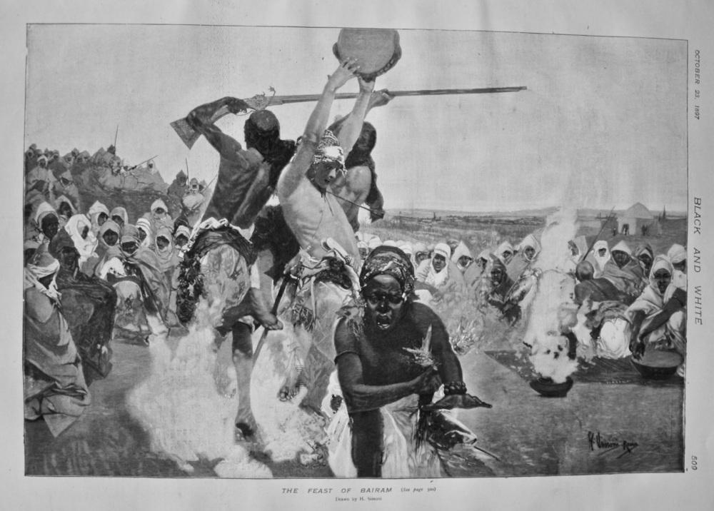 The Feast of Bairam. 1897.