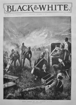 Night Attack on the Frontier. 1897.