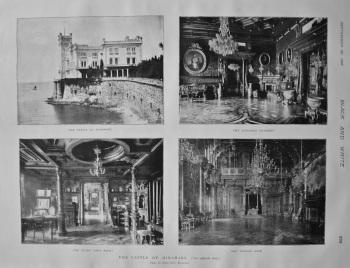 The Castle of Miramare. 1897.