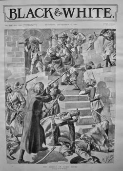 The Assault on Lundi Kotal. 1897.