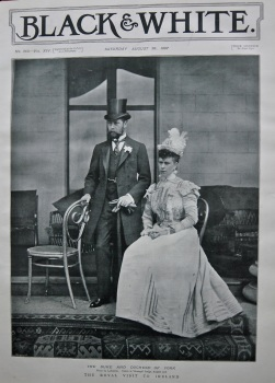 The Duke and Duchess of York : The Royal Visit to Ireland. 1897.