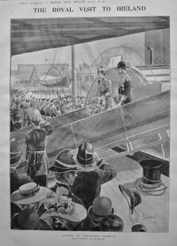 The Royal Visit to Ireland. (Supplement). 1897.