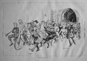 St. Stephen's Breaks Up. 1897.