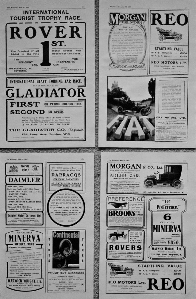 Adverts. 1907.