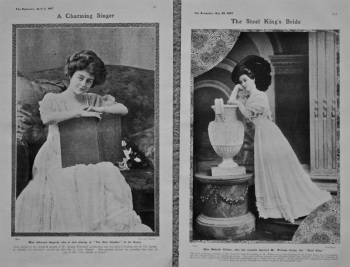 Miss Adrienne Augarde, and Miss Mabelle Gilman. 1907.