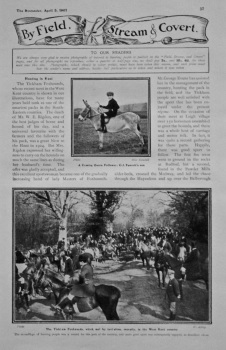 By Field, Stream & Covert. 1907.