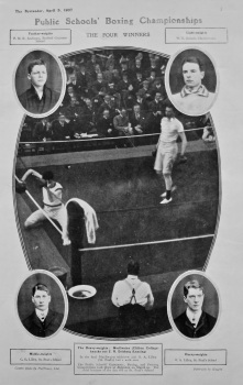 Public Schools' Boxing Championships. 1907.