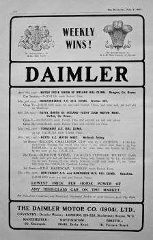 Daimler. 1907.