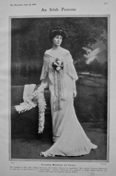 An Irish Peeress : Viscountess Massereene and Ferrard. 1907.