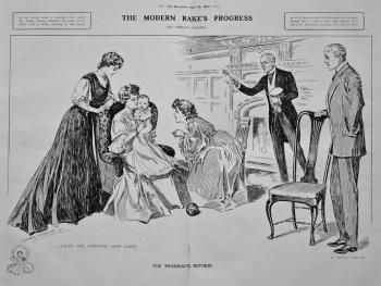 The Modern Rake's Progress. (Scene the Twelfth (and last). 1907.
