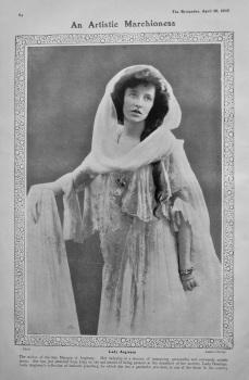 An Artistic Marchioness : Lady Anglesey. 1907.