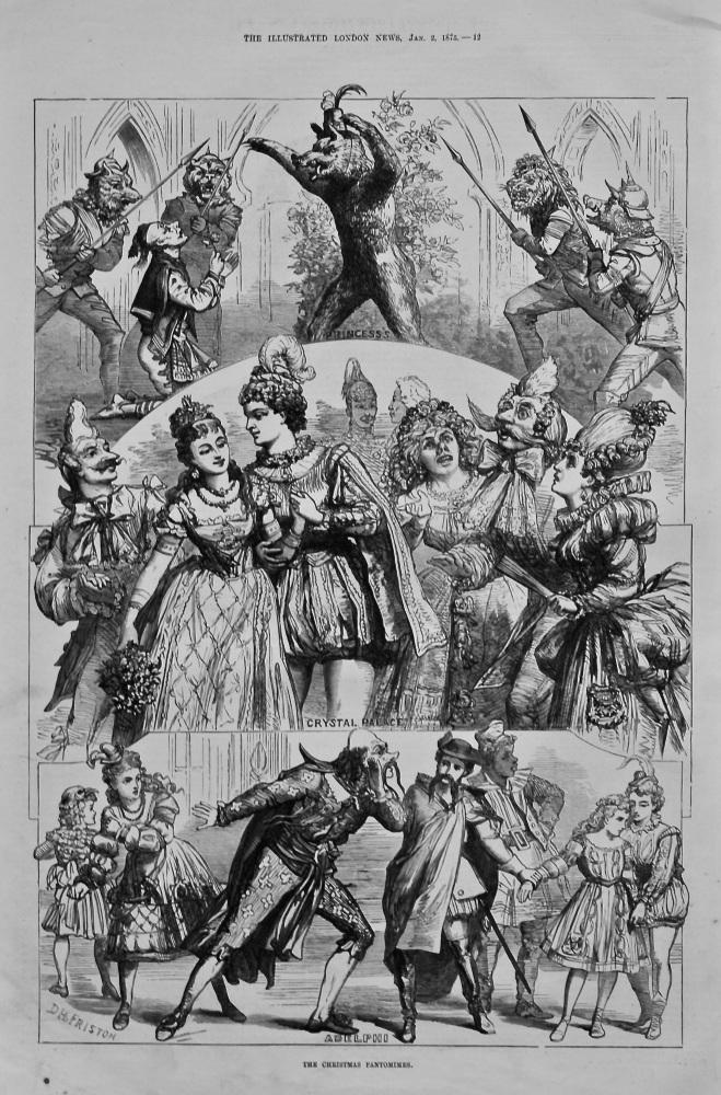 Christmas Pantomimes. 1875.