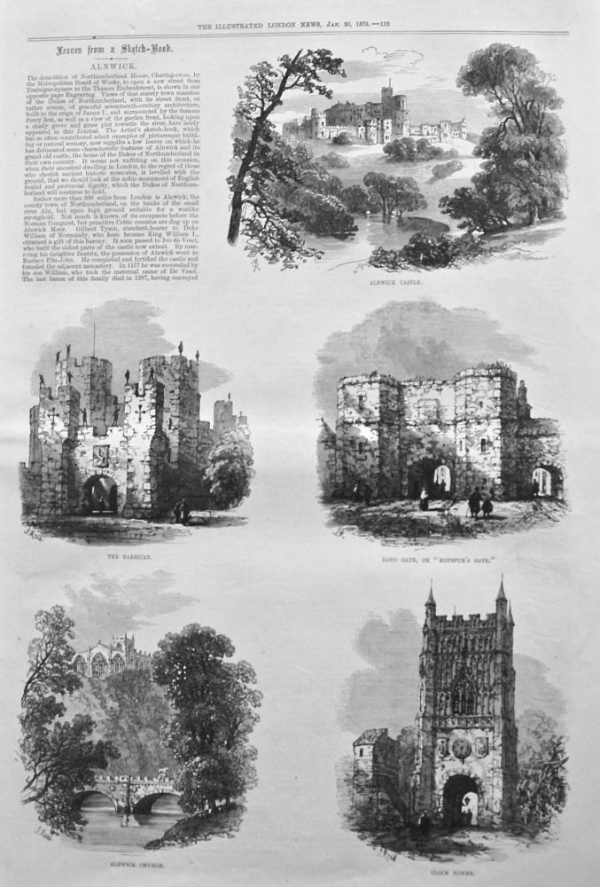Alnwick. 1875.