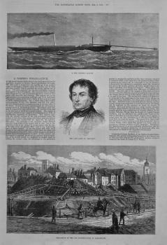 A Torpedo Steam-Launch. 1875.