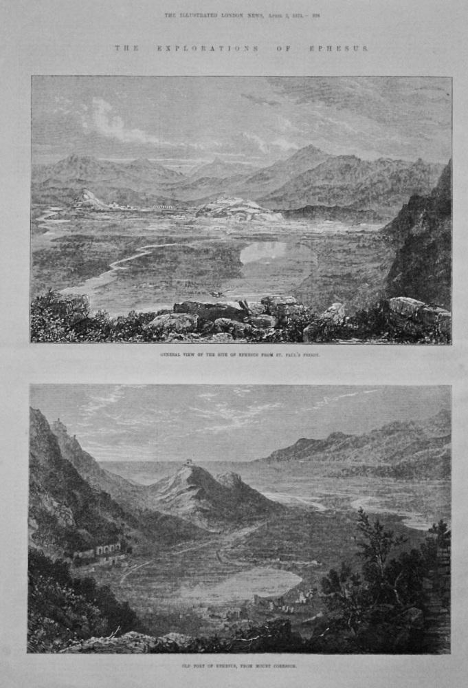 Explorations of Ephesus. 1875.