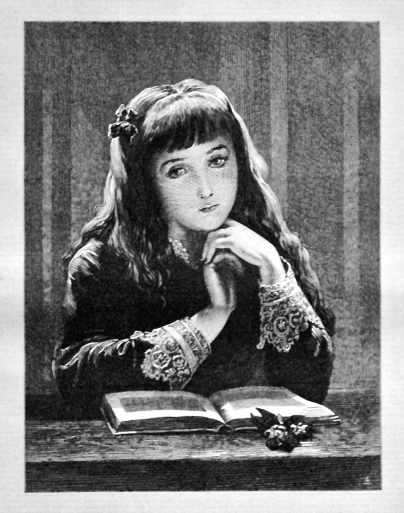 """A Sad Story."" 1875."