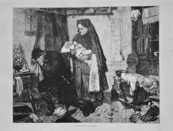 """TheWidower,"" By O. Gunther. 1875."
