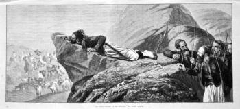 """""""Les Pourvoyeurs De La Cantine,"""" by Janet Lange. 1875."""