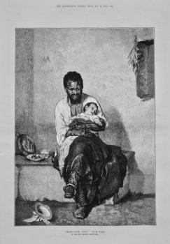 """""""Hush-A-Bye, Baby!"""" by M. Gysis. 1875."""