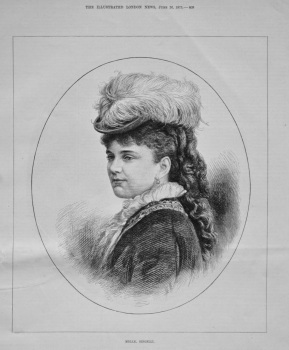 Mdlle. Singelli. 1875.