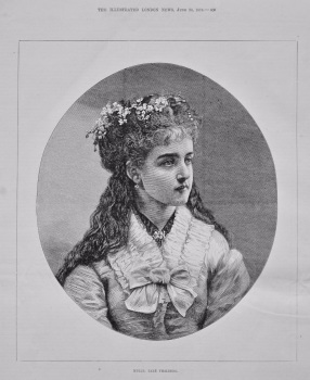 Mdlle. Zare Thalberg. 1875.