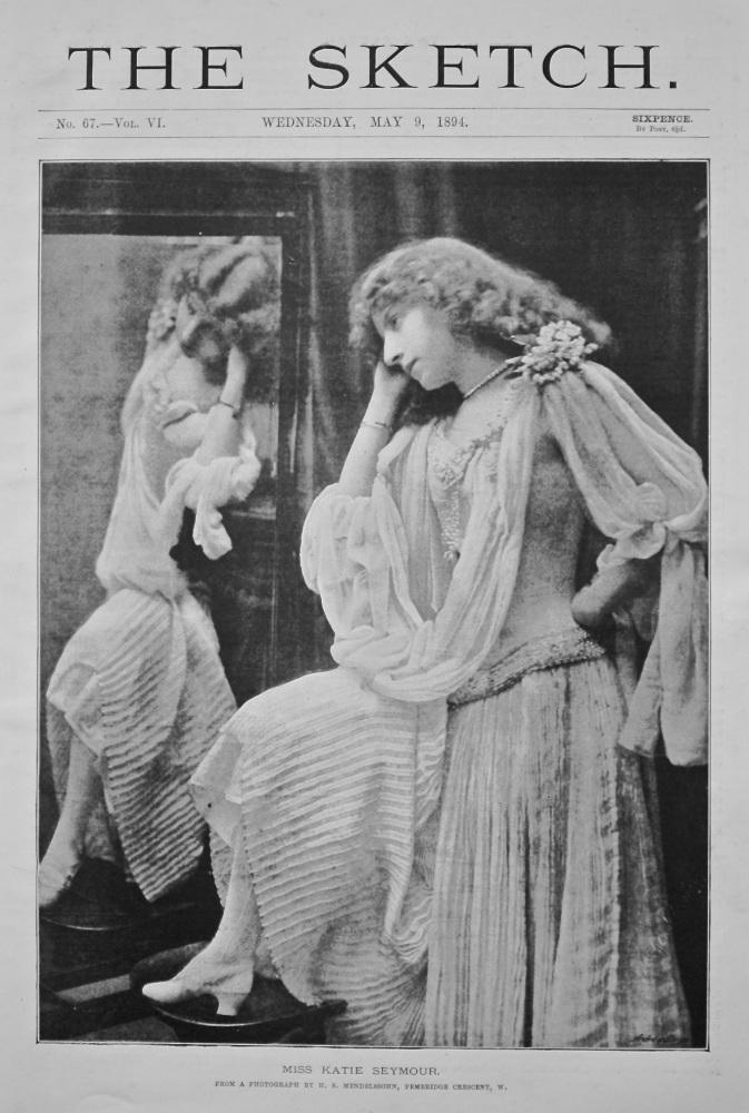 Miss Katie Seymour.  (Dancer)  1894.