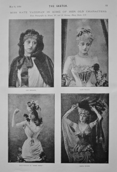 Miss Kate Vaughan in Some of Her Old Characters. 1894.