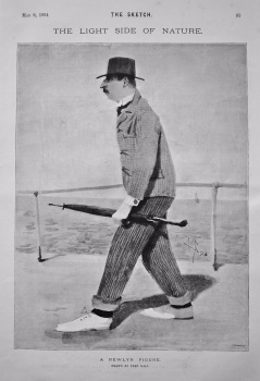 The Light Side of Nature : A Newlyn Figure. 1894.