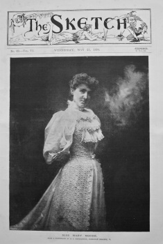 Miss Mary Moore. 1894.