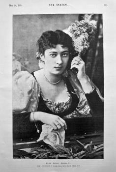 Miss Rose Nesbitt. 1894.