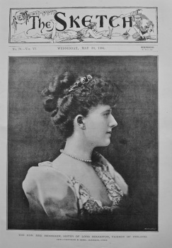 The Hon. Mrs. Henniker, Sister of Lord Houghton, Viceroy of Ireland. 1894.