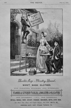 Brooke's Soap - Monkey Brand. 1894.
