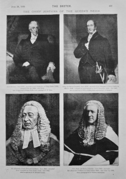The Chief Justices of the Queen's Reign. 1894.