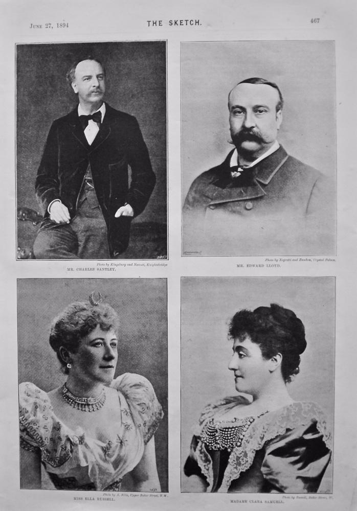 The Handel Festival. 1894.