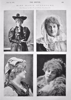 Miss Marie Studholme. 1894.