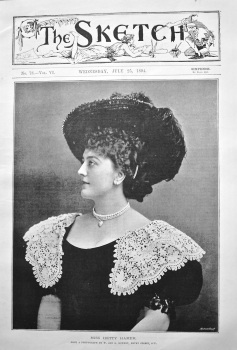 Miss Hetty Hamer. 1894.