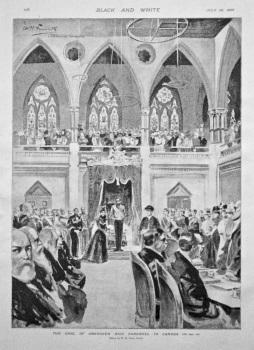 The Earl of Aberdeen Bids Farewell to Canada. 1898.