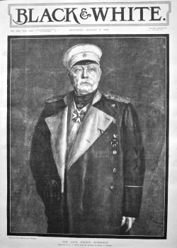 The Late Prince Bismarck. 1898