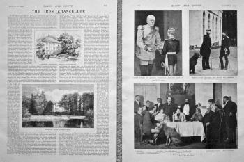 The Iron Chancellor. (Bismarck) 1898.