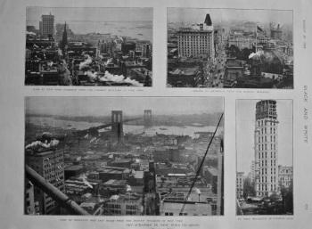 Sky-Scrapers in New York. 1898.