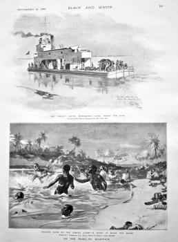 On the Road to Khartoum. 1898.