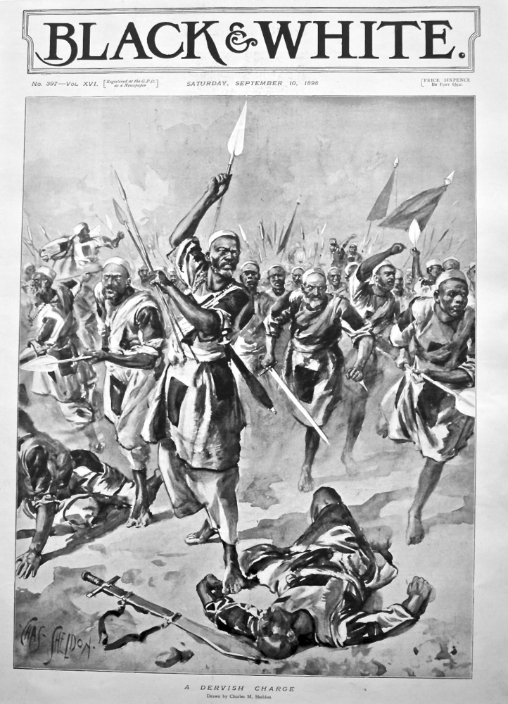 A Dervish Charge. 1898.