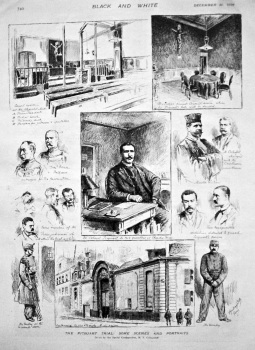 The Picquart Trial : Some Scenes and Portraits. 1898.