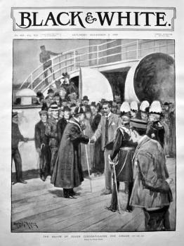 The Mayor of Dover Congratulates the Sirdar. 1898.