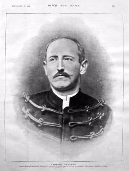 Captain Dreyfus. (Portrait) 1898.