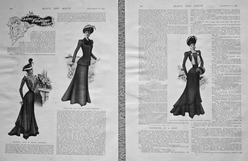 Dame Fashion's Diary. 898.